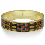 Egyptian King Tut Tomb Bangle Bracelet