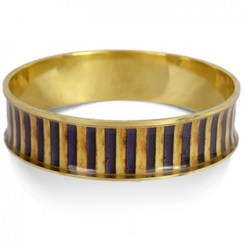 Egyptian King Tut Striped Bangle Bracelet