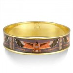Klimt Vulture Nekhbet Egyptian Bangle Bracelet