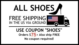 all shoes ship free within the US via standard ground!