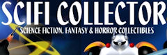 shop for science fiction toys, scifi collectibles, comic books, sci-fi costumes