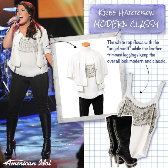 Kree Harrison rocks Fascinate knee boots by Pleaser from Gothicplus.com