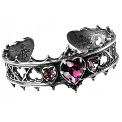 Elizabethan Pewter Cuff Gothic Bracelet LABEShops Home Decor, Fashion and Jewelry