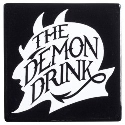 Demon Drink Ceramic Coaster LABEShops Home Decor, Fashion and Jewelry