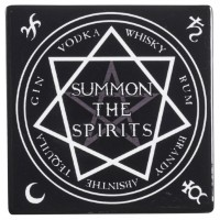 Summon the Spirits Ceramic Coaster