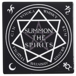 Summon the Spirits Ceramic Coaster LABEShops Home Decor, Fashion and Jewelry