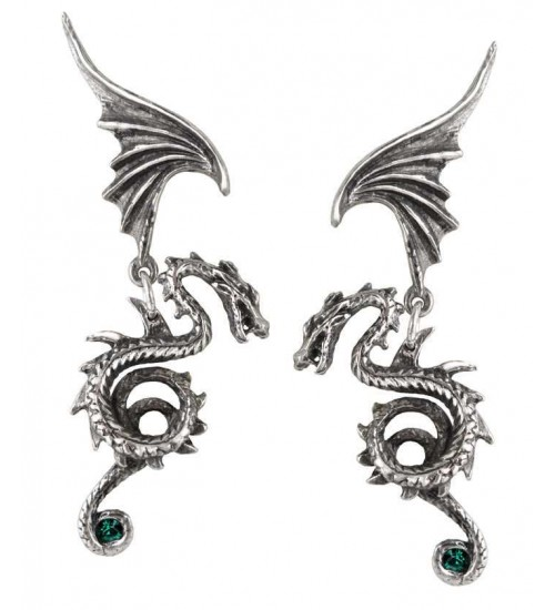 Bestia Regalis Dragon Earring Pair at LABEShops, Home Decor, Fashion and Jewelry Direct to You
