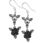 Ring O Roses Gothic Earrings at LABEShops, Home Decor, Fashion and Jewelry