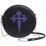 Gothic Cross Round Shoulder Bag at LABEShops, Home Decor, Fashion and Jewelry