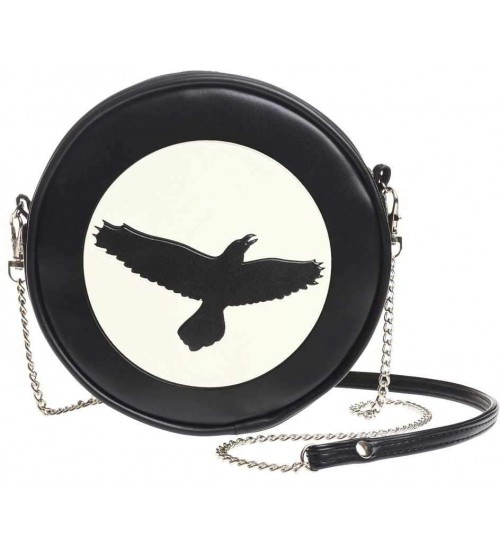 Raven Moon Round Shoulder Bag at LABEShops, Home Decor, Fashion and Jewelry