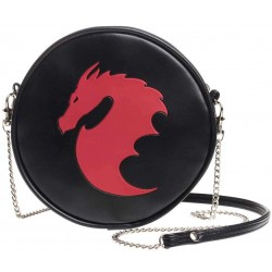 Dragon Round Shoulder Bag