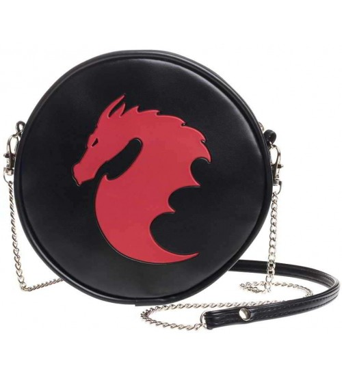 Dragon Round Shoulder Bag at LABEShops, Home Decor, Fashion and Jewelry