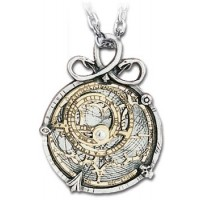 Anguistralobe Pewter Steampunk Necklace