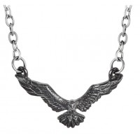 Ravenette Black Raven Necklace