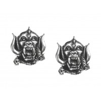 Motorhead War-Pig Pewter Earrings
