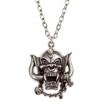 Motorhead War-Pig Pewter Necklace