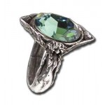 Absinthe Fairy Spirit Crystal Pewter Ring at LABEShops, Home Decor, Fashion and Jewelry