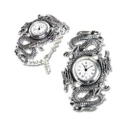 Imperial Dragon Pewter Gothic Wrist Watch LABEShops Home Decor, Fashion and Jewelry