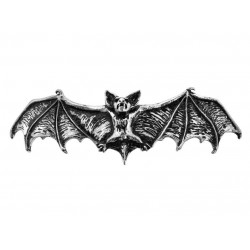 Darkling Bat Pewter Hair Slide LABEShops Home Decor, Fashion and Jewelry