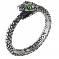Sophia Serpent Pewter Ring