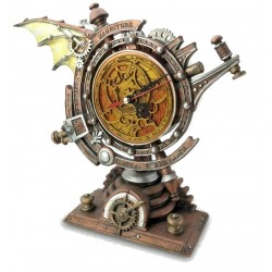 The Stormgrave Chronometer Steampunk Pedestal Clock LABEShops Home Decor, Fashion and Jewelry