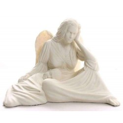 Seated Angel with Baby Statue LABEShops Home Decor, Fashion and Jewelry