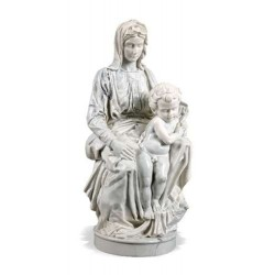 Madonna of Bruges by Michelangelo Museum Replica Statue LABEShops Home Decor, Fashion and Jewelry