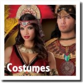 Costumes for men, women and children