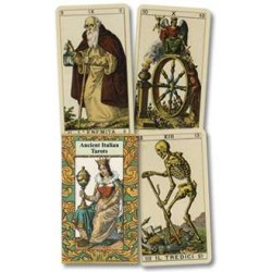 Ancient Italian Tarot Cards LABEShops Home Decor, Fashion and Jewelry