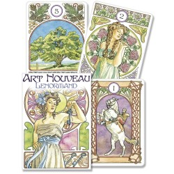 Art Nouveau Lenormand Oracle Cards LABEShops Home Decor, Fashion and Jewelry