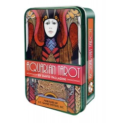 Aquarian Tarot Cards in a Tin LABEShops Home Decor, Fashion and Jewelry