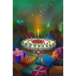 Birthday Spell Card LABEShops Home Decor, Fashion and Jewelry