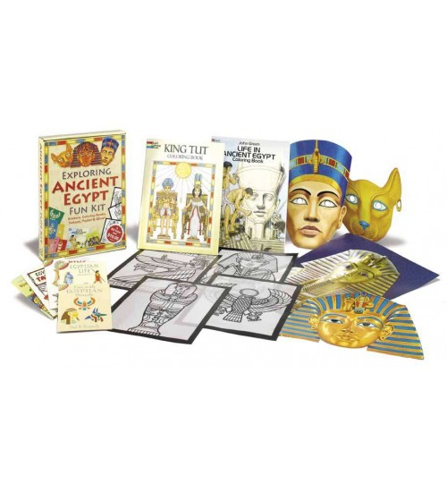 Exploring Ancient Egypt Fun Kit at LABEShops, Home Decor, Fashion and Jewelry