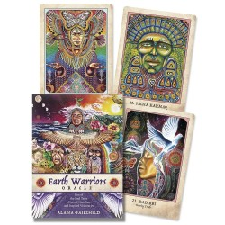 Earth Warriors Oracle Cards - Sacred Guardians LABEShops Home Decor, Fashion and Jewelry