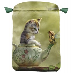 Fantasy Cat Satin Bag