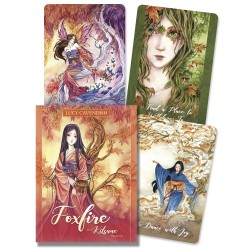 Foxfire - The Kitsune Oracle Cards LABEShops Home Decor, Fashion and Jewelry