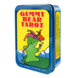 Gummy Bear Tarot Mini Cards in Tin LABEShops Home Decor, Fashion and Jewelry