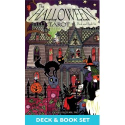 Halloween Tarot Cards Deck and Book Set LABEShops Home Decor, Fashion and Jewelry