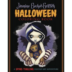 Jasmine Becket-Griffith Halloween Coloring Book LABEShops Home Decor, Fashion and Jewelry