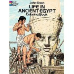 Life in Ancient Egypt Coloring Book at LABEShops, Home Decor, Fashion and Jewelry