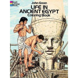 Life in Ancient Egypt Coloring Book LABEShops Home Decor, Fashion and Jewelry