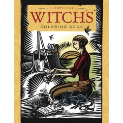 Llewellyn's Witch's Coloring Book LABEShops Home Decor, Fashion and Jewelry
