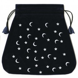 Moon and Stars Velvet Bag LABEShops Home Decor, Fashion and Jewelry