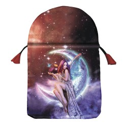 Moon Fairy Satin Tarot Bag LABEShops Home Decor, Fashion and Jewelry