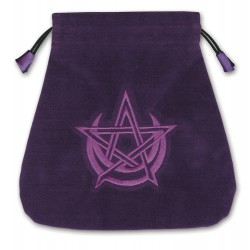 Pagan Moon Velvet Tarot Bag LABEShops Home Decor, Fashion and Jewelry