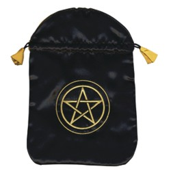 Pentacle Satin Bag LABEShops Home Decor, Fashion and Jewelry