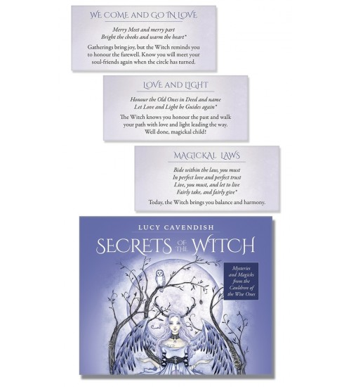 Secrets of the Witch Affirmation Deck