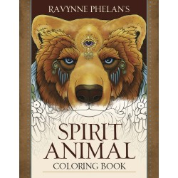Spirit Animal Coloring Book LABEShops Home Decor, Fashion and Jewelry