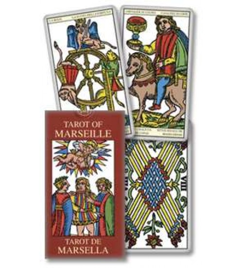 Tarot of marseille french historical tarot deck for Autrefois home decoration marseille