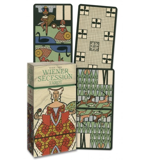 Wiener Secession Tarot Cards - Anima Antiqua at LABEShops, Home Decor, Fashion and Jewelry